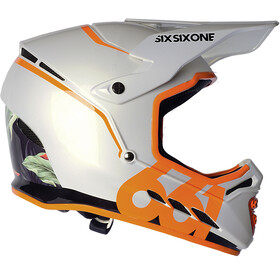 SixSixOne Reset Casque intégral, tropic orange